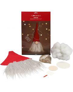 Scandinavian Santa gnome, H: 30 cm, 1 pc/ 1 pack
