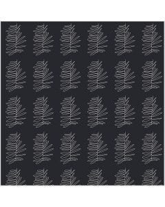 Fabric, W: 145 cm, 140 g, dark grey, 1 rm