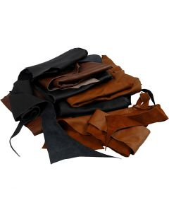 Real Leather, assorted colours, 2 kg/ 1 pack