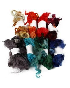 Curly Locks, assorted colours, 8x20 g/ 1 bundle
