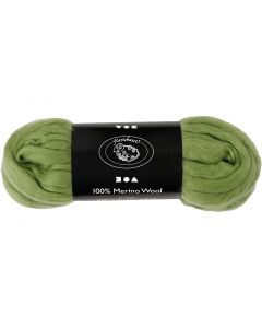 Wool, thickness 21 my, cactus, 100 g/ 1 pack