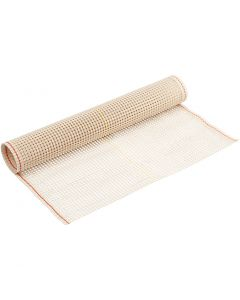 Latch Fabric, W: 50 cm, off-white, 1 m/ 1 roll