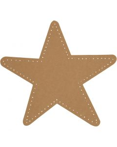 Star, D: 17 cm, 350 g, natural, 4 pc/ 1 pack