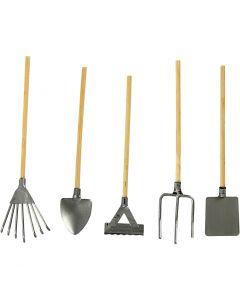 Garden Tools, L: 11 cm, 5 pc/ 1 pack