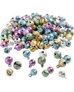 Bells, D: 8+10 mm, 200 asstd./ 1 pack