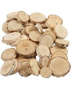Wood Mix, D: 25-45 mm, thickness 7 mm, 600 g/ 1 pack