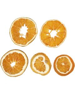 Dried orange slices, D: 40-60 mm, 5 pc/ 1 pack