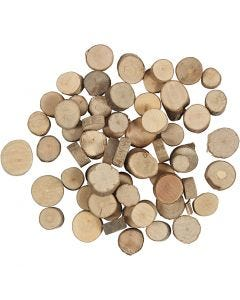 Wooden disc, 25 g/ 1 pack