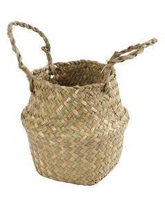Seagrass basket, H: 7/15 cm, 1 pc