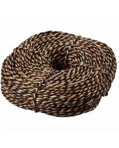 Sea grass, W: 3,5-4 mm, brown, 500 g/ 1 bundle