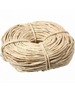 Maize string, W: 3,5-4 mm, natural, 500 g/ 1 bundle