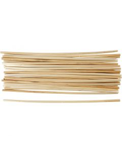 Straw, L: 22 cm, thickness 3-5 mm, 50 pc/ 1 pack