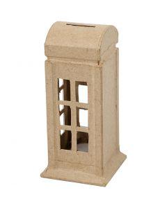 Money Box, H: 15 cm, W: 6,5 cm, 1 pc