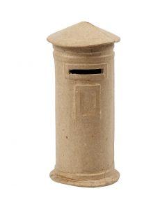 Money Box, H: 15 cm, D: 6,5 cm, 1 pc