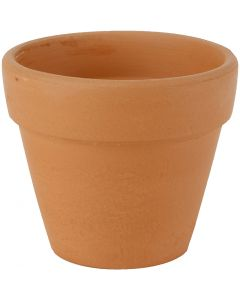 Flower Pots, H: 8 cm, D: 9 cm, 24 pc/ 1 box