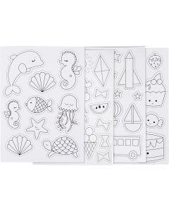 Magnets, 14,85x21 cm, 8 sheet/ 1 pack