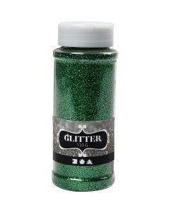 Glitter, green, 110 g/ 1 tub
