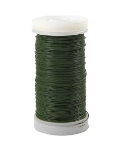 Florist Wire, thickness 0,31 mm, 100 g, green, 160 m/ 1 roll