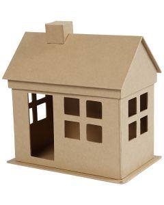 House, H: 23 cm, L: 22,5 cm, 1 pc