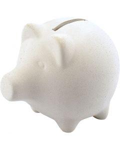 Piggy Bank, H: 9 cm, L: 11 cm, 10 pc/ 1 box