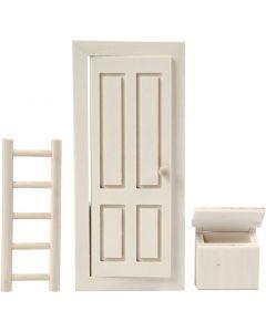 Elf Door, size 8x18 cm, 1 set
