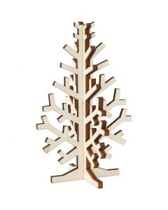 Christmas Tree, H: 12 cm, W: 7,5 cm, 1 pc