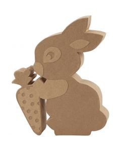 Rabbit, H: 18 cm, 1 pc