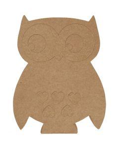 Owl, H: 27 cm, 1 pc