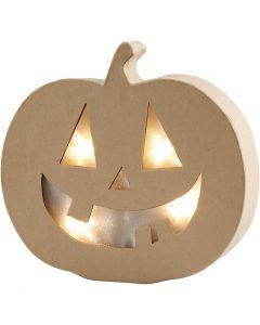 Pumpkin Light, H: 20 cm, W: 22 cm, 1 pc