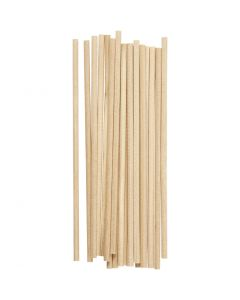 Sticks , L: 15 cm, D: 4 mm, 20 pc/ 1 pack