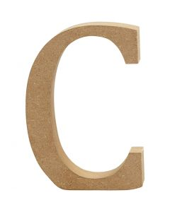 Letter, C, H: 8 cm, thickness 1,5 cm, 1 pc
