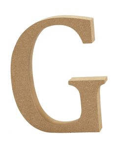 Letter, G, H: 8 cm, thickness 1,5 cm, 1 pc
