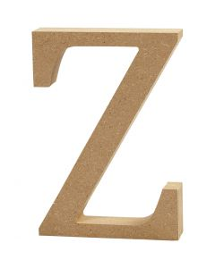 Letter, Z, H: 8 cm, thickness 1,5 cm, 1 pc