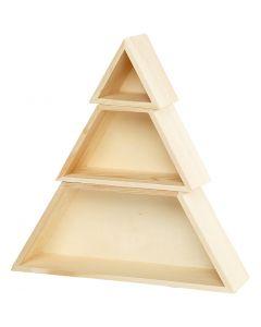 Storage Boxes, H: 8+10+12 cm, W: 9+18+29 cm, 1 set