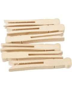 Clothes pegs, 100 pc/ 1 pack