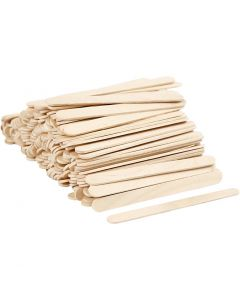 Ice Lolly Sticks, L: 11,5 cm, W: 10 mm, 200 pc/ 1 pack