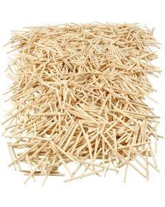 Matchsticks, L: 48 mm, D: 2 mm, 1 kg, 8500 pc