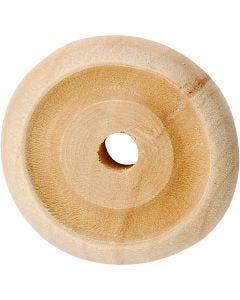 Wheel, D: 24x8 mm, 8 pc/ 1 pack