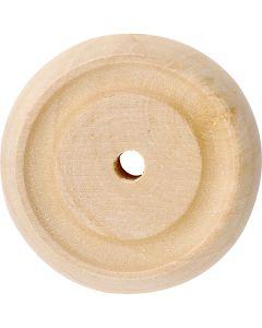 Wheel, D: 30x10 mm, 40 pc/ 1 pack