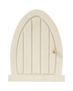 Door, size 10x13x0,5 cm, 1 pc