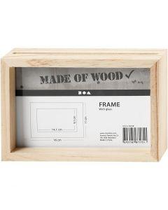 Double Frame, size 16x11 cm, 1 pc
