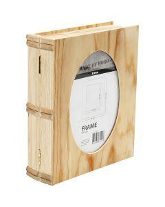 Book Box, size 21,7x18 cm, 1 pc