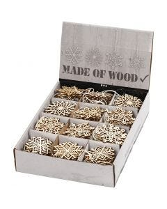 Ornaments, D: 7 cm, thickness 0,3 mm, 200 pc/ 1 pack