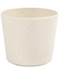 Flowerpot, H: 6,5 cm, D: 7 cm, 1 pc