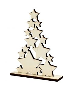 Christmas Tree, H: 19,6 cm, W: 14,7 cm, 1 pc