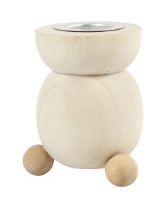 Candle Light Holder, H: 6,5 cm, D: 4,8 cm, 1 pc