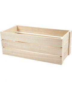 Apple Box, H: 17 cm, size 45x20 cm, 1 pc