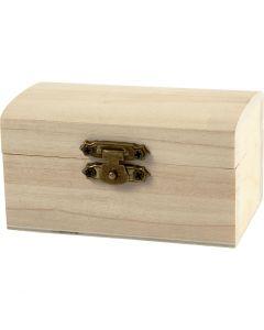 Treasure Chest, size 9x5,2x4,9 cm, 10 pc/ 1 pack