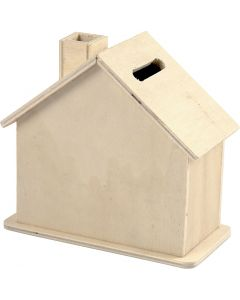 Money Box, size 10,1x10x5,4 cm, 10 pc/ 1 pack