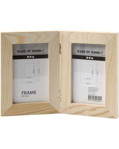 Double Frame, size 2x(14,7x10,5) cm, 1 pc